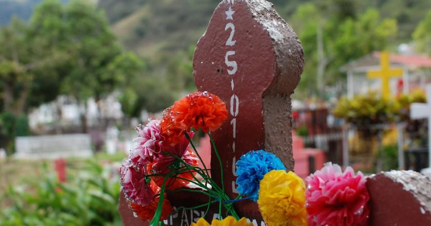 Cemetery in Jinotega, Nicaragua