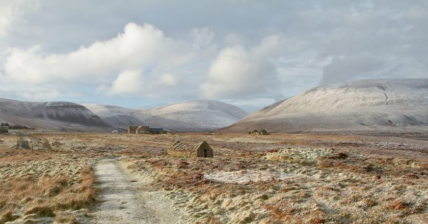 Snowy Valley, Rackwick, Orkney