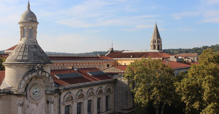 Nimes from the rooftops