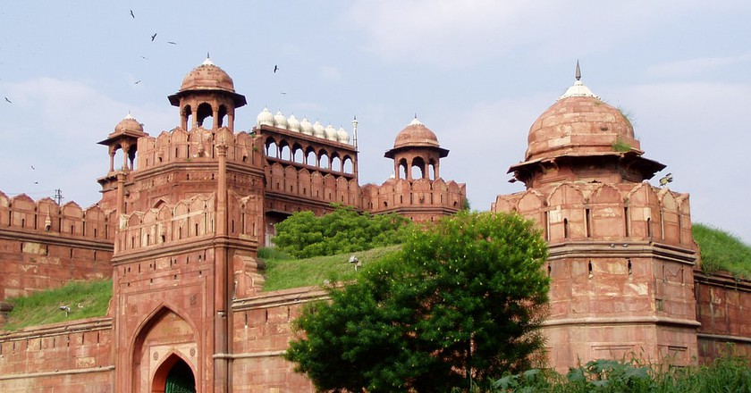 The Red Fort in India has now been 'adopted'