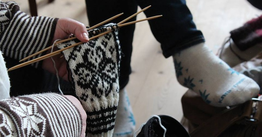 The knitting festival in the Faroes is the cosiest in the world | © Bindifestivalurin í Fuglafirði