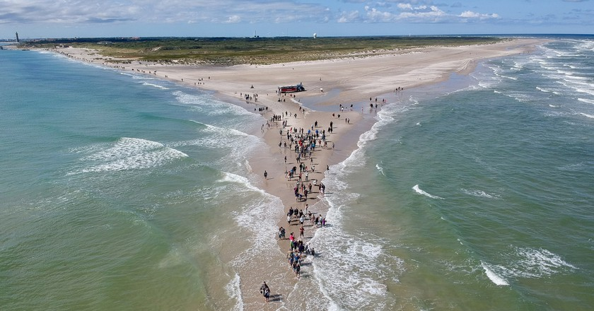 Millions of tourists visit Skagen every summer