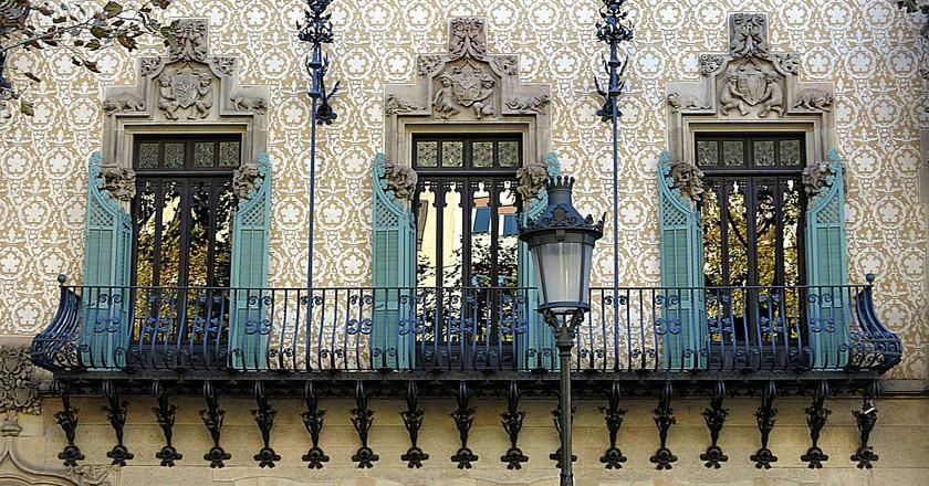 A Modernist building on the Passeig de Gràcia