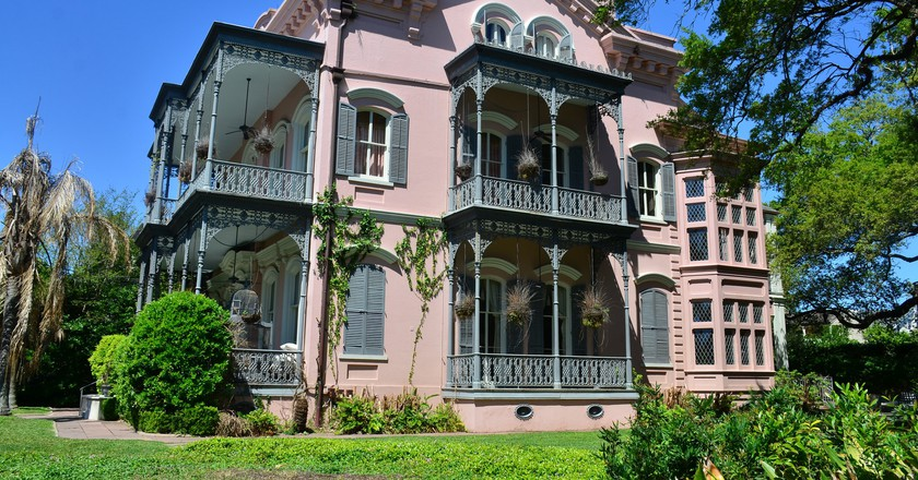 A house in New Orleans' Garden District