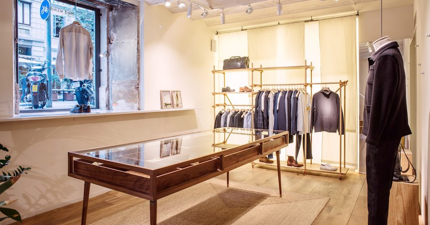 Pastel Interieur Barcelona : The best menswear stores in leixample barcelona