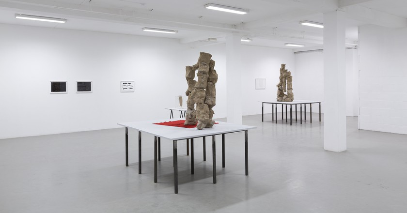 Rein Dufait, Corpus alienum, exhibition view at P/////AKT, 2018