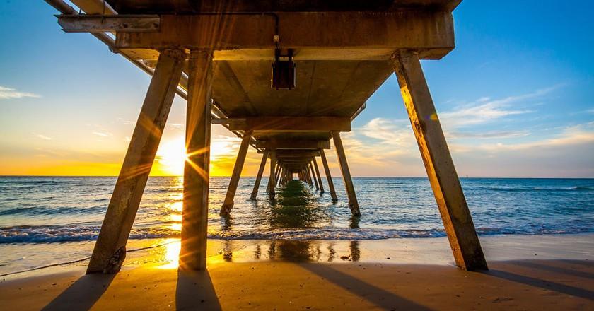 Glenelg Beach Pier