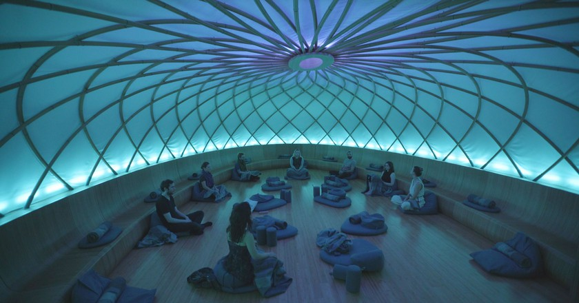 Inscape's dome in New York City