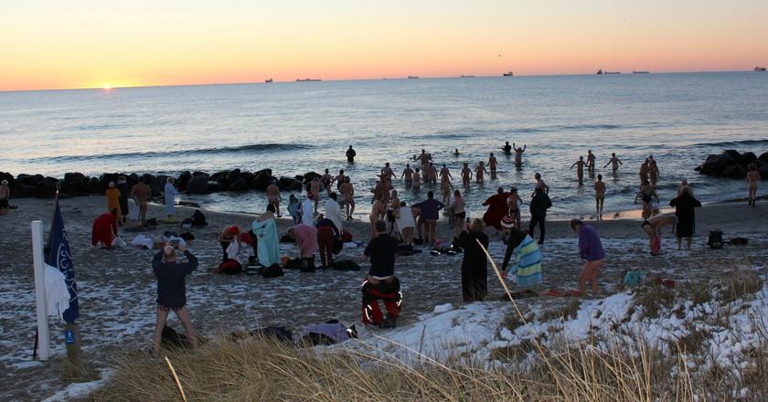 Skagen Winter Swimming Festival