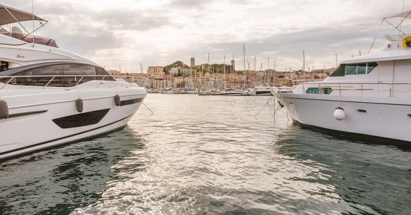 Le Vieux Old Port, Cannes, France