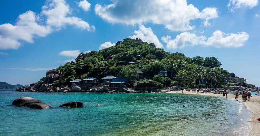 The beautiful beaches of Koh Tao