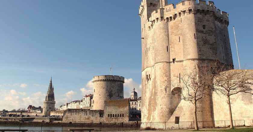 The maritime city of La Rochelle