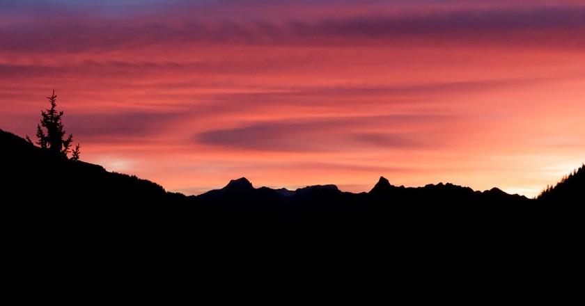 Pink skies    © Austrian Tourist Board