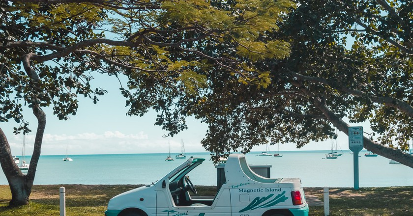 Rent a topless car on Magnetic Island