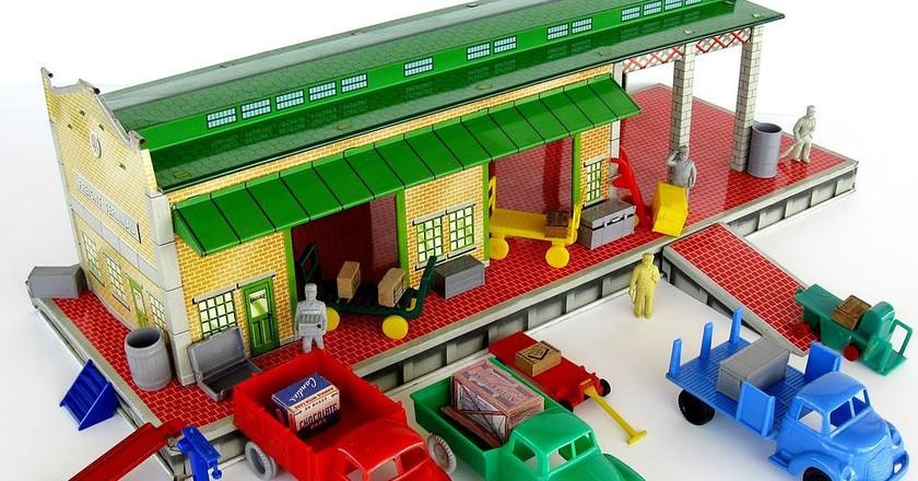 Marx Freight Station