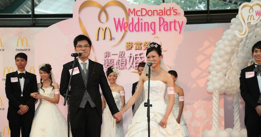 Why McDonald's Weddings Are a Hit in Hong Kong