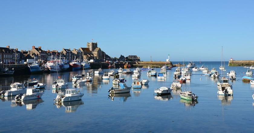 Beautiful Barfleur in Normandy