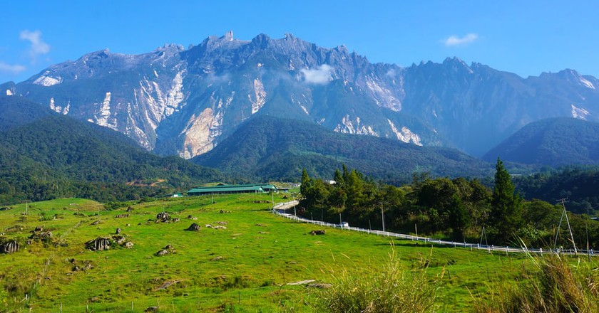 Head out of the city and enjoy the majestic view of Mount Kinabalu