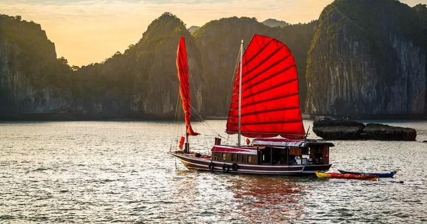 Ha Long Bay, Unesco world heritage site in Vietnam