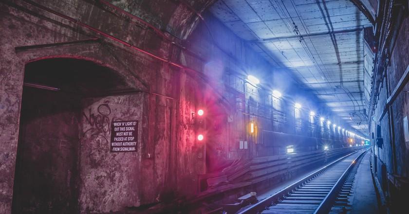 The underground tunnels of Sydney