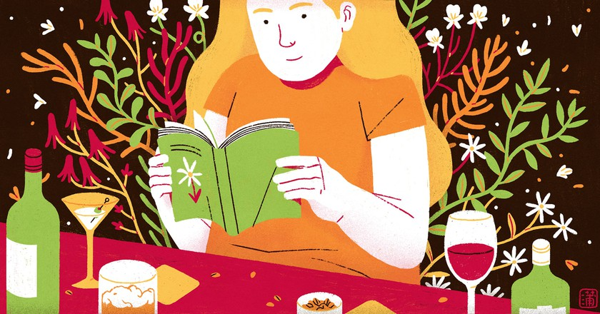 An Ode to Reading in New York Bars