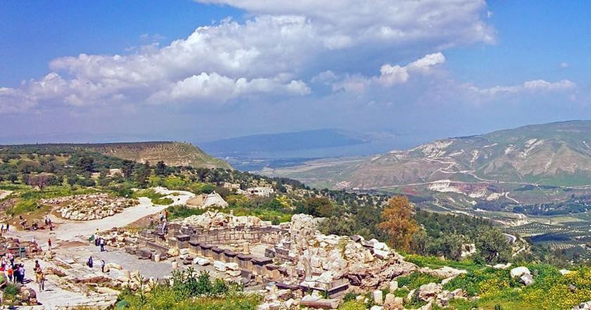 Um Qais and Golan Heights