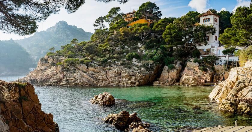 Cala Fornells, Costa Brava, Catalonia