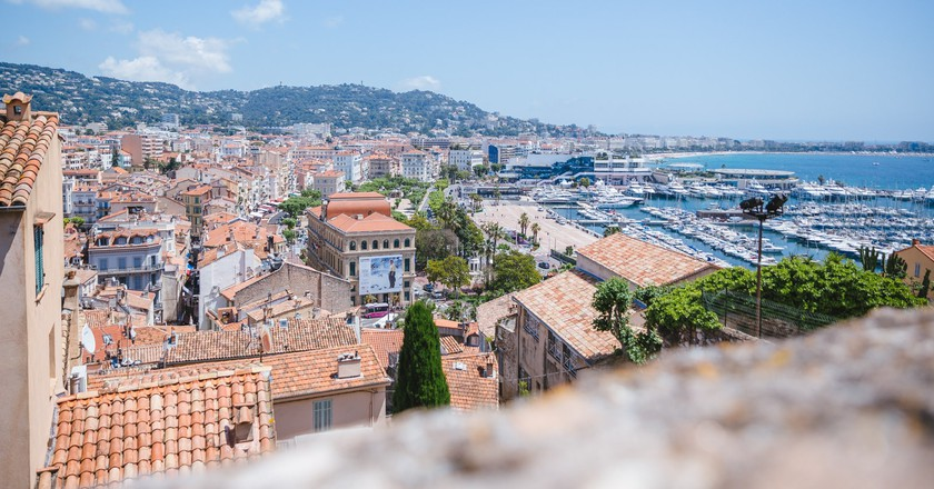View from Le Suquet, Cannes, France