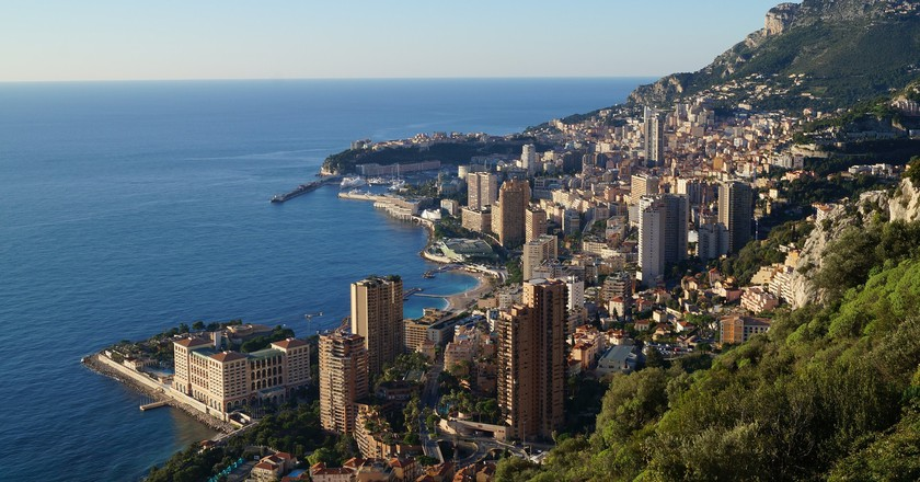 Whats the difference between monaco and monte carlo monaco rising up from the mediterranean publicscrutiny Choice Image