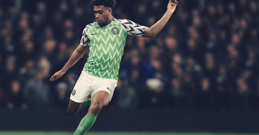 Nigeria 2018 home kit | © Nike