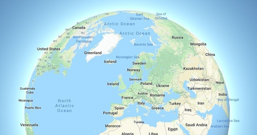 The New \'Globe Mode\' on Google Maps Will Change the Way You Think ...