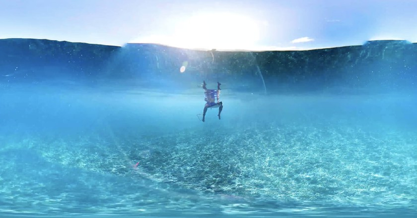 This Dazzling Immersive Film Lets You Surf a Tahitian Wave
