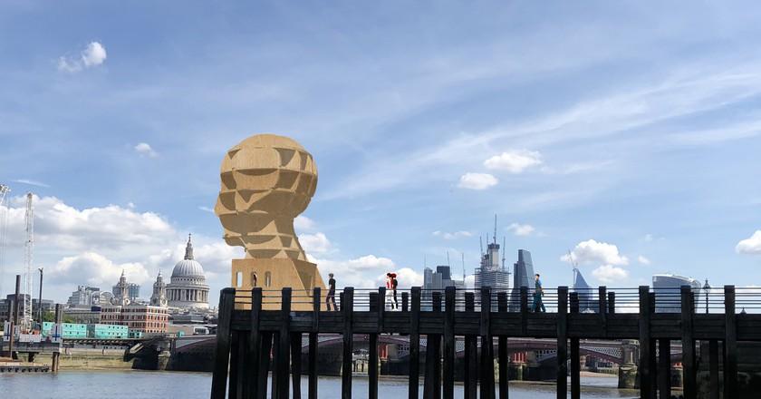 'Head Above Water' installation by Steuart Padwick