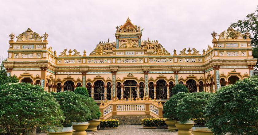 The Vĩnh Tràng Pagoda is a wonderful sight
