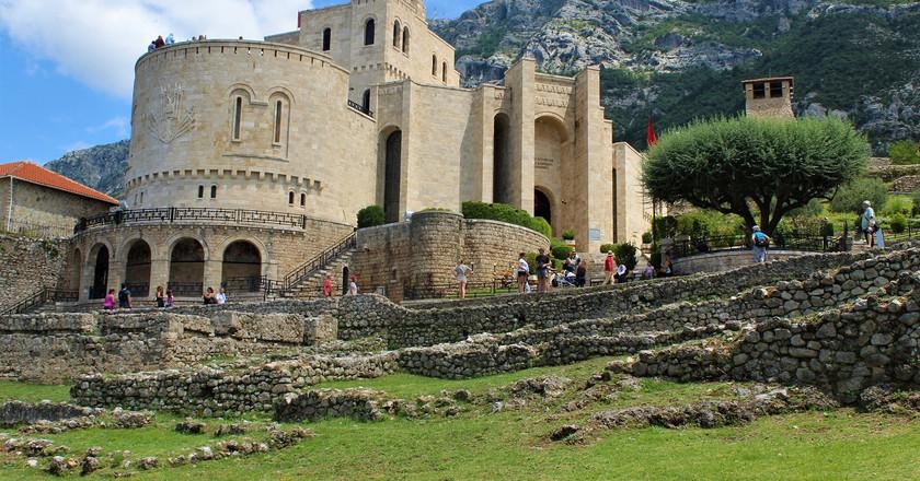The Skanderbeg Museum in Kruja, dedicated to national hero George Kastriota Skanderbeg