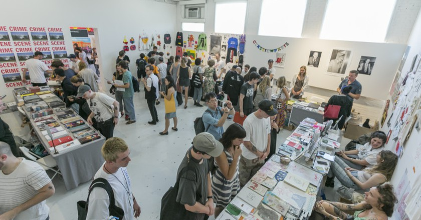 The Art Book Fair brings out artists of all kinds to appreciate print media