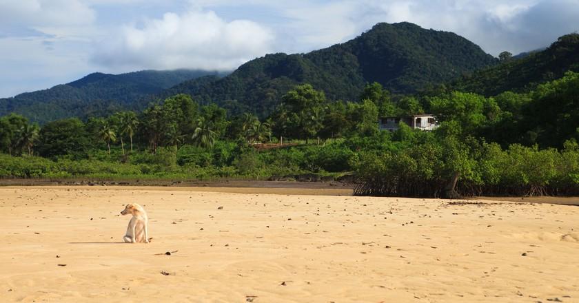 Sussex Beach, Freetown Peninsula, Sierra Leone