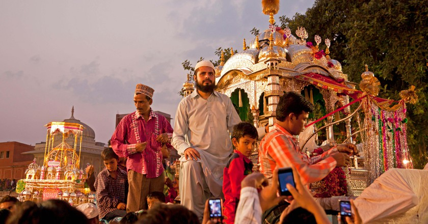 Islamic Muharram procession in Jaipur, India