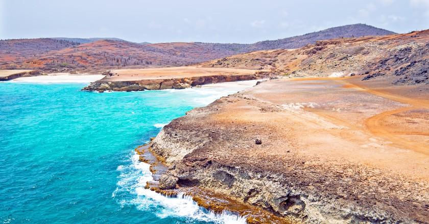 North coast of Aruba