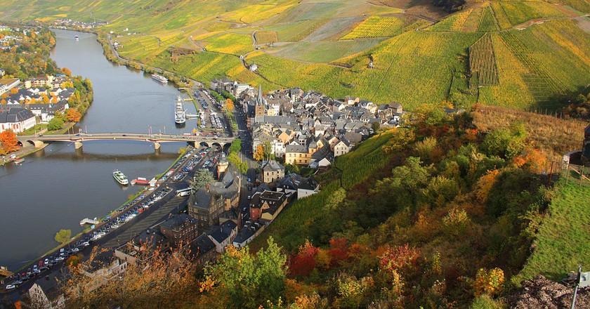 Vineyards of Bernkastel