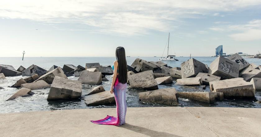 Inside the Mediterranean School for Aspiring Mermaids