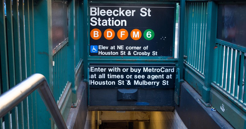 Bleecker Street subway station