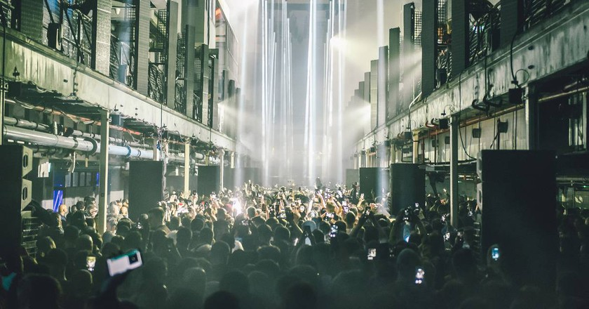 Printworks is a 5,000-capacity venue in Surrey Quays