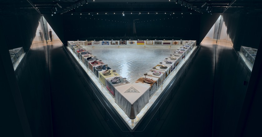 Why Judy Chicago's 'Dinner Party' Still Matters, Nearly 40 Years Later