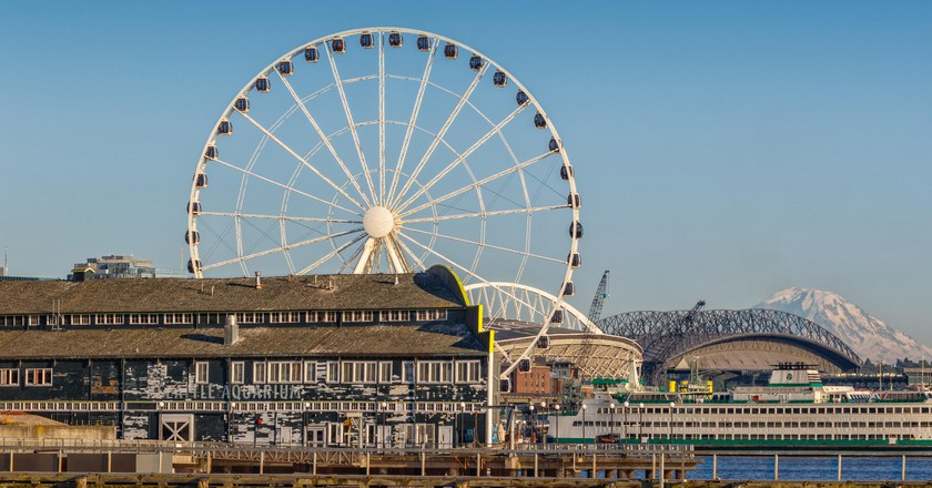 The Seattle Great Wheel is an iconic symbol of the city
