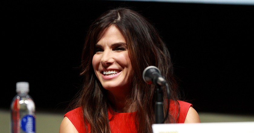 Sandra Bullock is just one of Austin's famous residents