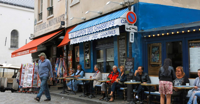 Montmartre is home to some great places to eat