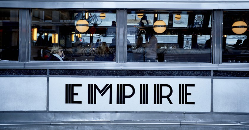 The Empire Diner in Chelsea, New York