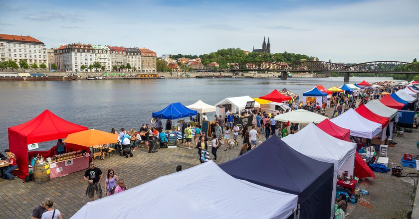Prague has a market for every kind of foodie