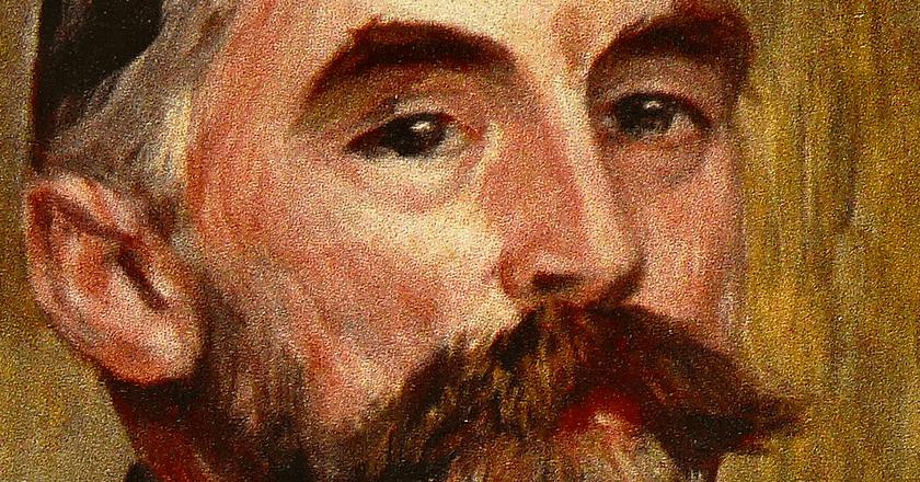 Stéphane Mallarmé by Auguste Renoir